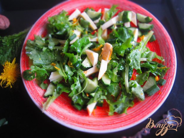 фото рецепта: Салат с моцареллой