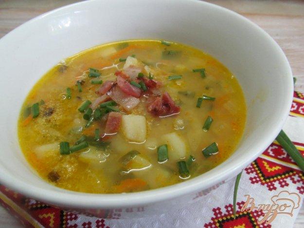 фото рецепта: Гороховый суп с беконом