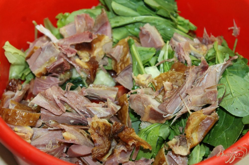 салаты с копчено курятиной фото