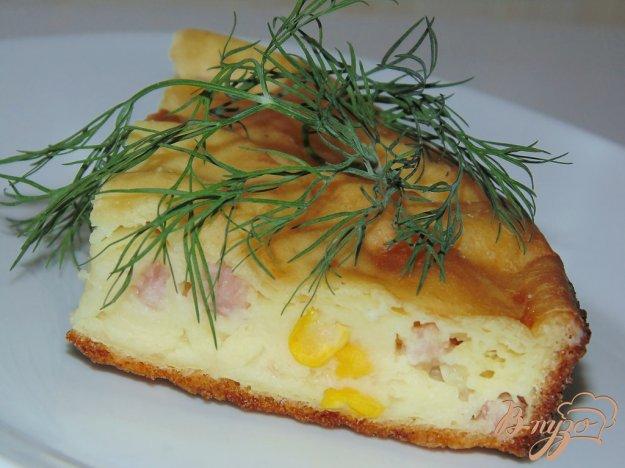 Пирог на кефире с ветчиной рецепт с