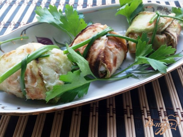 фото рецепта: Фаршированные кабачки «Бочоночки»