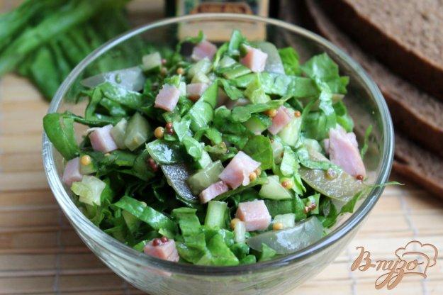 Салат со шпинатом рецепт с очень вкусный