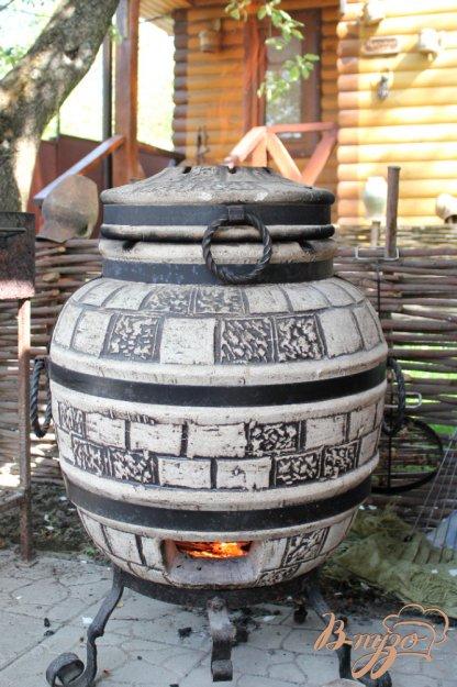 фото рецепта: Свинина с картофелем приготовленные в тандыре