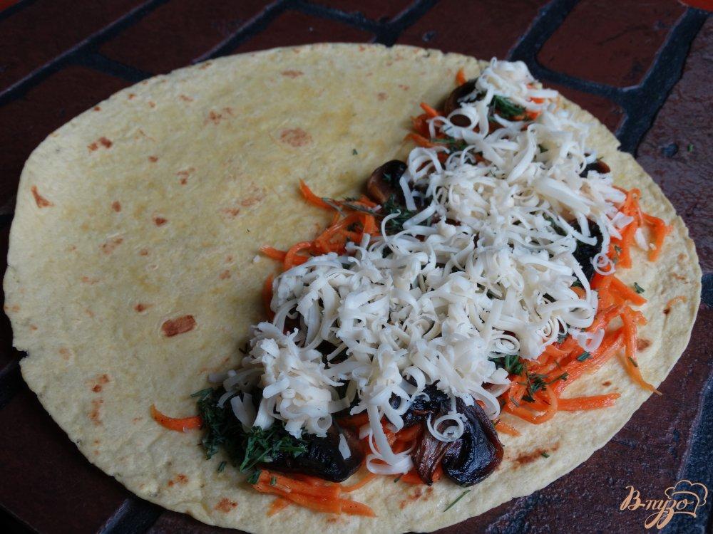 салат из курицы с грибами рецепт с корейской морковью