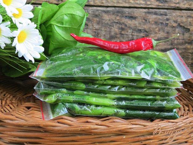 фото рецепта: Заготовка шпината на зиму
