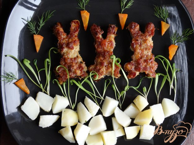 фото рецепта: Детское блюдо Зайчики