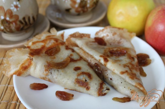 фото рецепта: Сладкие блины на сметане