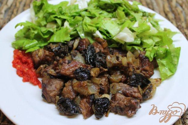 фото рецепта: Телятина с черносливом в фольге