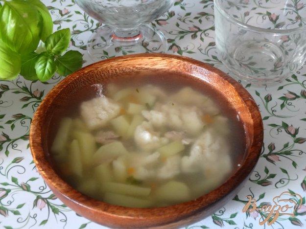 фото рецепта: Куриный суп с клецками