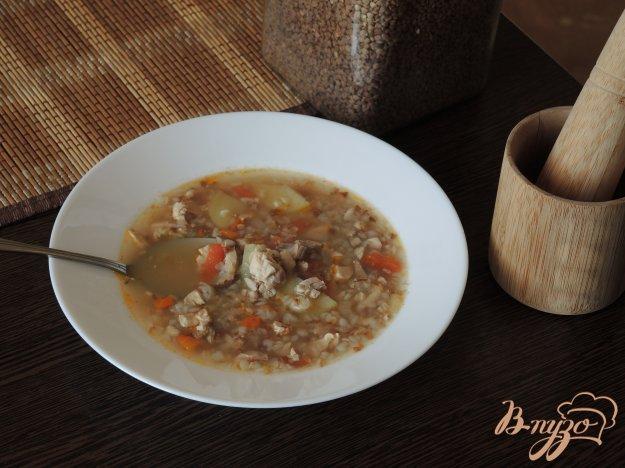 фото рецепта: Диетический гречневый суп