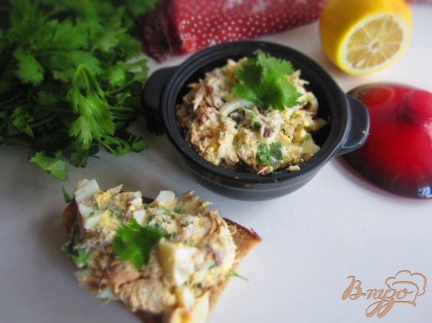 фото рецепта: Рыбный паштет с яйцом