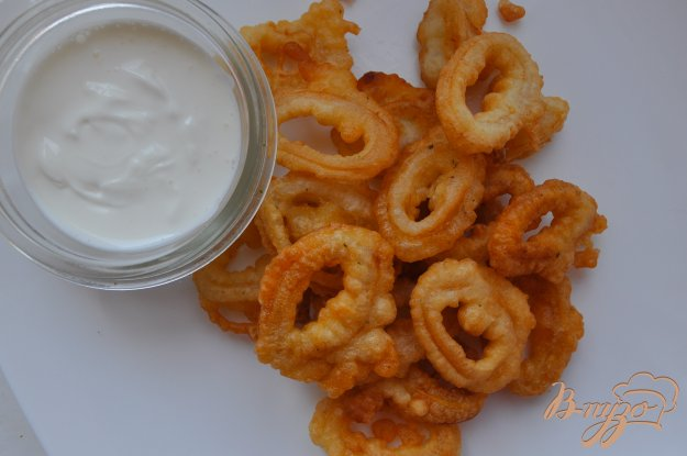 Кольца кальмара пошаговый рецепт с