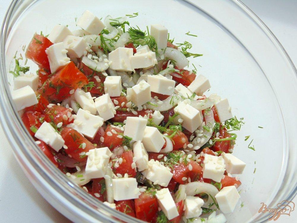 Салат с плавленным сыром рецепт