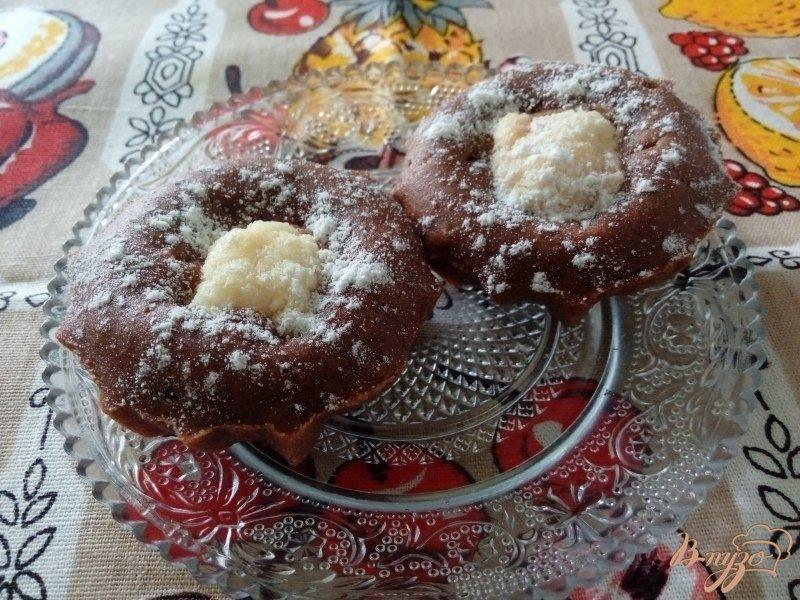Творожные кексы с какао рецепт с фото