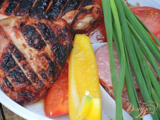 фото рецепта: Куриный шашлык в остром маринаде