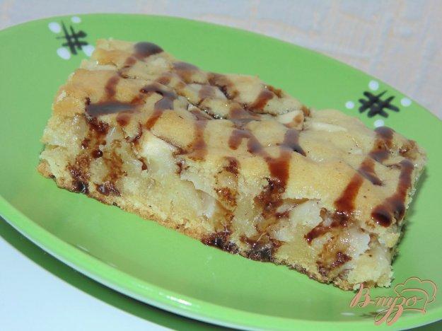фото рецепта: Постный яблочный пирог