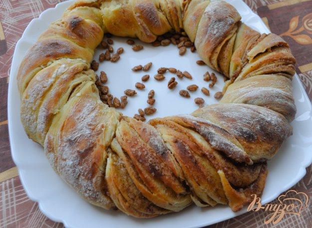 фото рецепта: Эстонская булочка с корицей