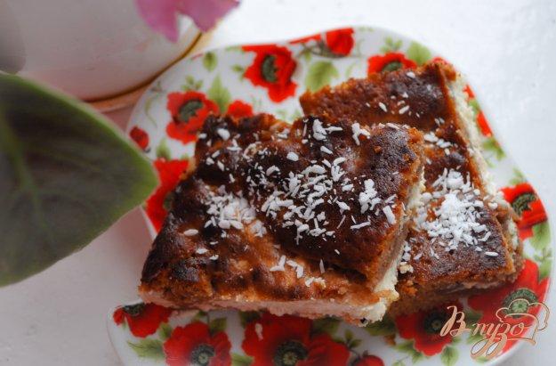 фото рецепта: Творожный шоколадный пирог