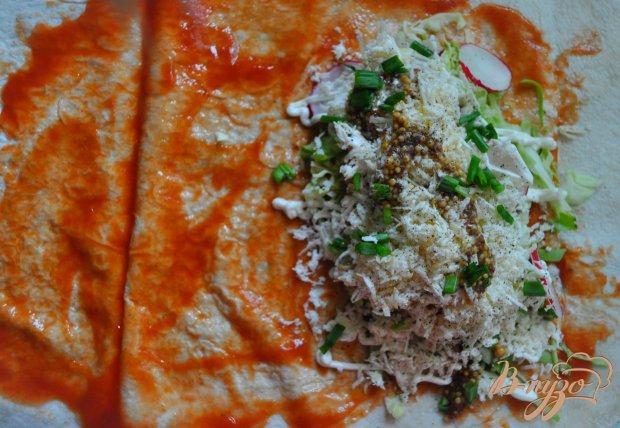 Шаурма со свининой рецепт фото пошагово