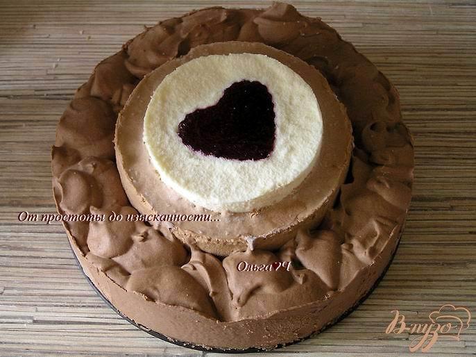 Торт три шоколада пошаговый
