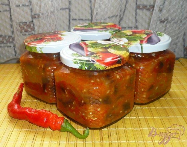фото рецепта: Баклажаны в болгарском перце