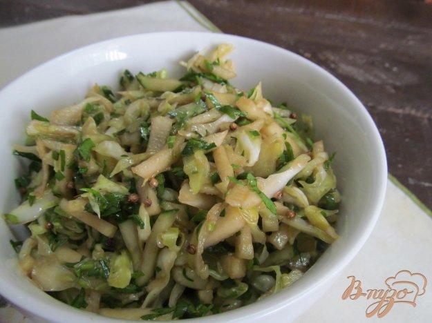 фото рецепта: Капустный салат с соевым соусом