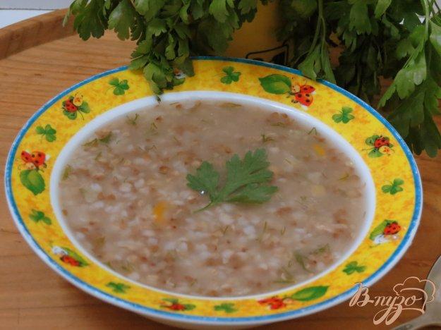фото рецепта: Суп с гречневой крупой