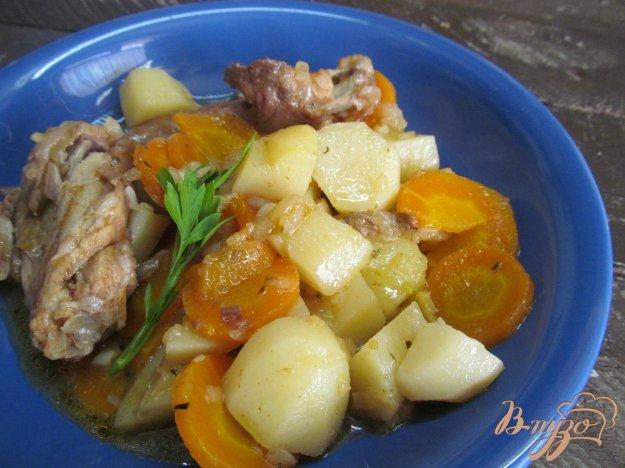 фото рецепта: Кролик с овощами