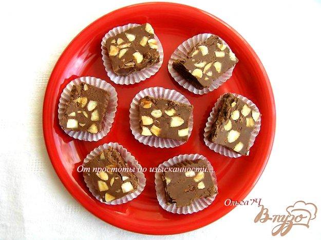 фото рецепта: Шоколадный фадж или конфеты