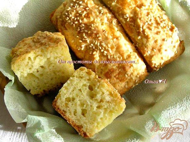 фото рецепта: Сырные булочки на оливковом масле