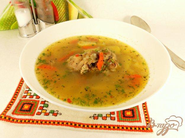 фото рецепта: Куриный суп с гречкой в мультиварке