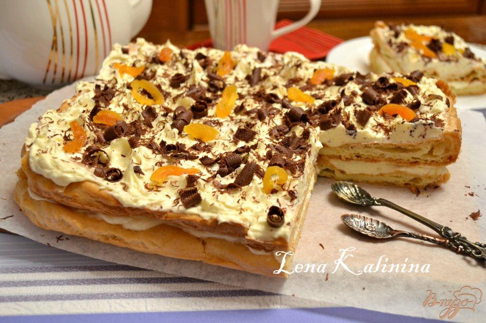 """Заварной торт """"Карпатка"""""""