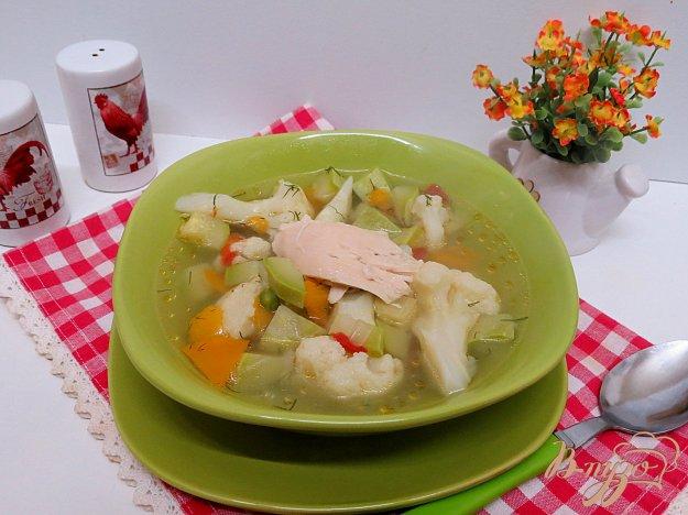 фото рецепта: Суп овощной без картофеля