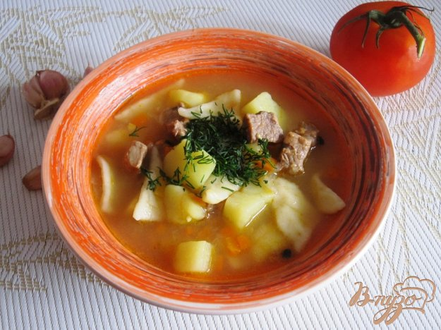 фото рецепта: Узбекский суп