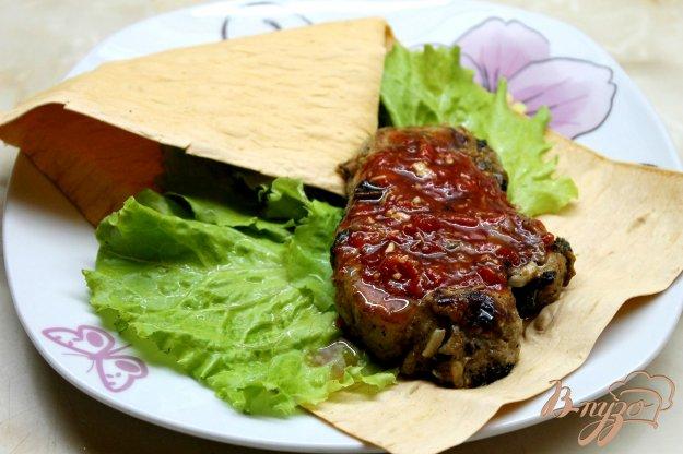 фото рецепта: Пряная маринованная свиная вырезка запеченная в фольге