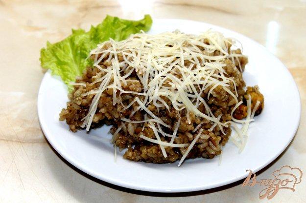 фото рецепта: Рис с мидиями в соевым соусом