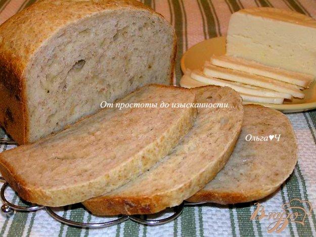 фото рецепта: Сырный хлеб с пшеничными отрубями