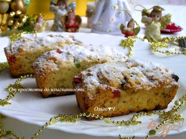 фото рецепта: Рождественские  мини-штоллены