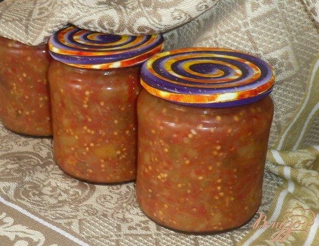 фото рецепта: Закуска - соус из печеных баклажанов