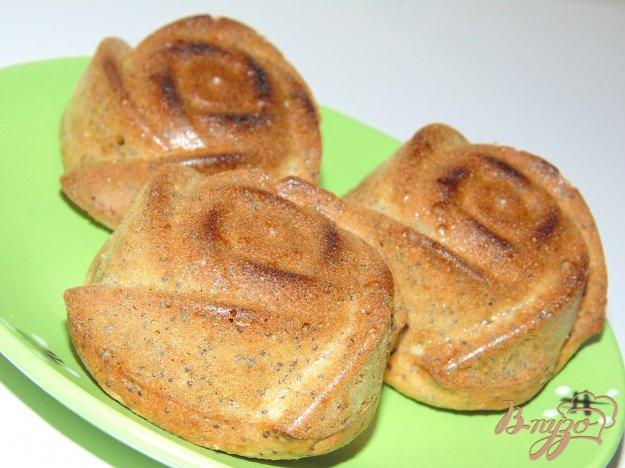 фото рецепта: Творожные кексы с маком