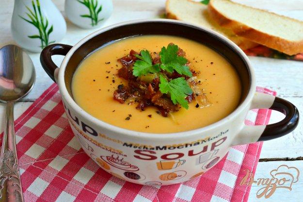 фото рецепта: Крем-суп из картофеля и моркови