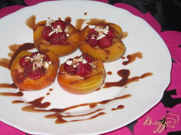 фото рецепта: Фаршированные абрикосы на десерт