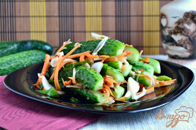 фото рецепта: Кимчи из свежих огурцов