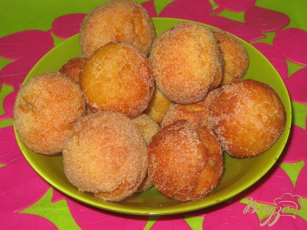 фото рецепта: Творожно-ванильные шарики