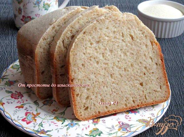Хлеб с крупой рецепт
