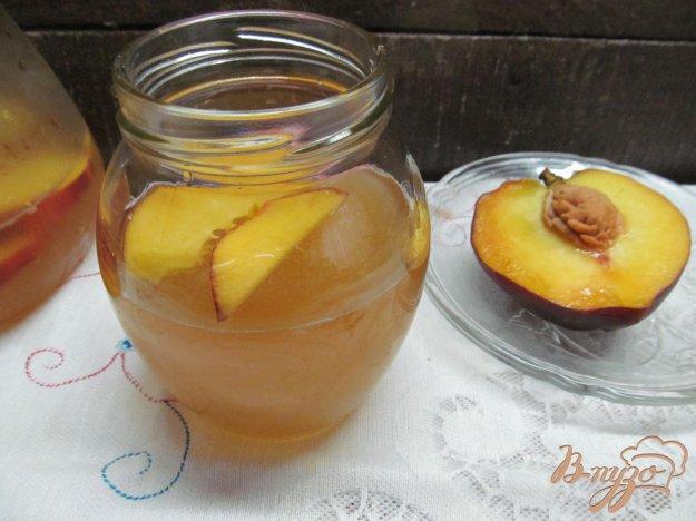 фото рецепта: Техасский персиковый чай