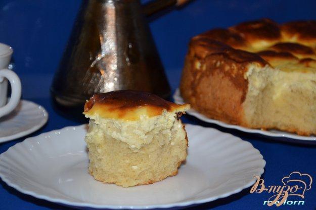 фото рецепта: Булочки сырные в сырной заливке