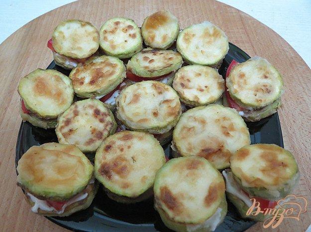 фото рецепта: Кабачки жареные с помидорами