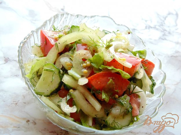 фото рецепта: Салат со сладким перцем