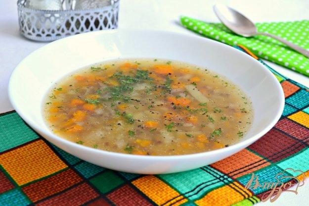 Суп с гречкой и шампиньонами рецепт с пошагово